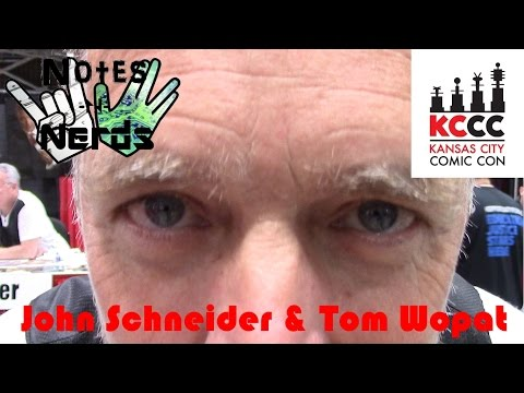 Notes and Nerds S04E11 - KCCC 2016 Interview with John Schneider and Tom Wopat