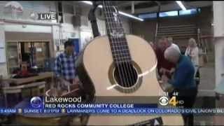 Red Rocks Community College, Dept. Of Fine Woodworking, Channel 4, Denver