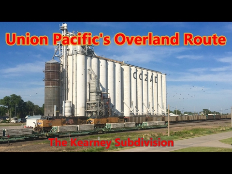 Union Pacific's Overland Route: the Kearney Subdivision