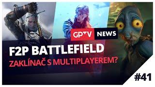 Nový F2P Battlefield a Zaklínač s multiplayerem?  | GPTV News #41
