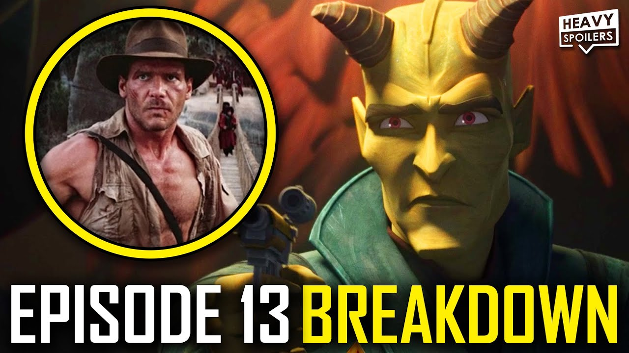 THE BAD BATCH Episode 13 Breakdown | Ending Explained, STAR WARS Easter Eggs And Things You Missed