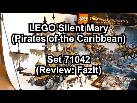 Review LEGO Silent Mary (Fazit) - Pirates of the Caribbean Set 71042 deutsch 4K