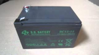 АКБ (аккумуляторная батарея) B.B.Battery