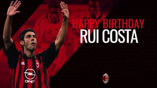 Manuel Rui Costa's best skills: goals, assists, magic for AC Milan