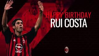 Manuel Rui Costa's best skills: goals, assists, magic for AC Milan