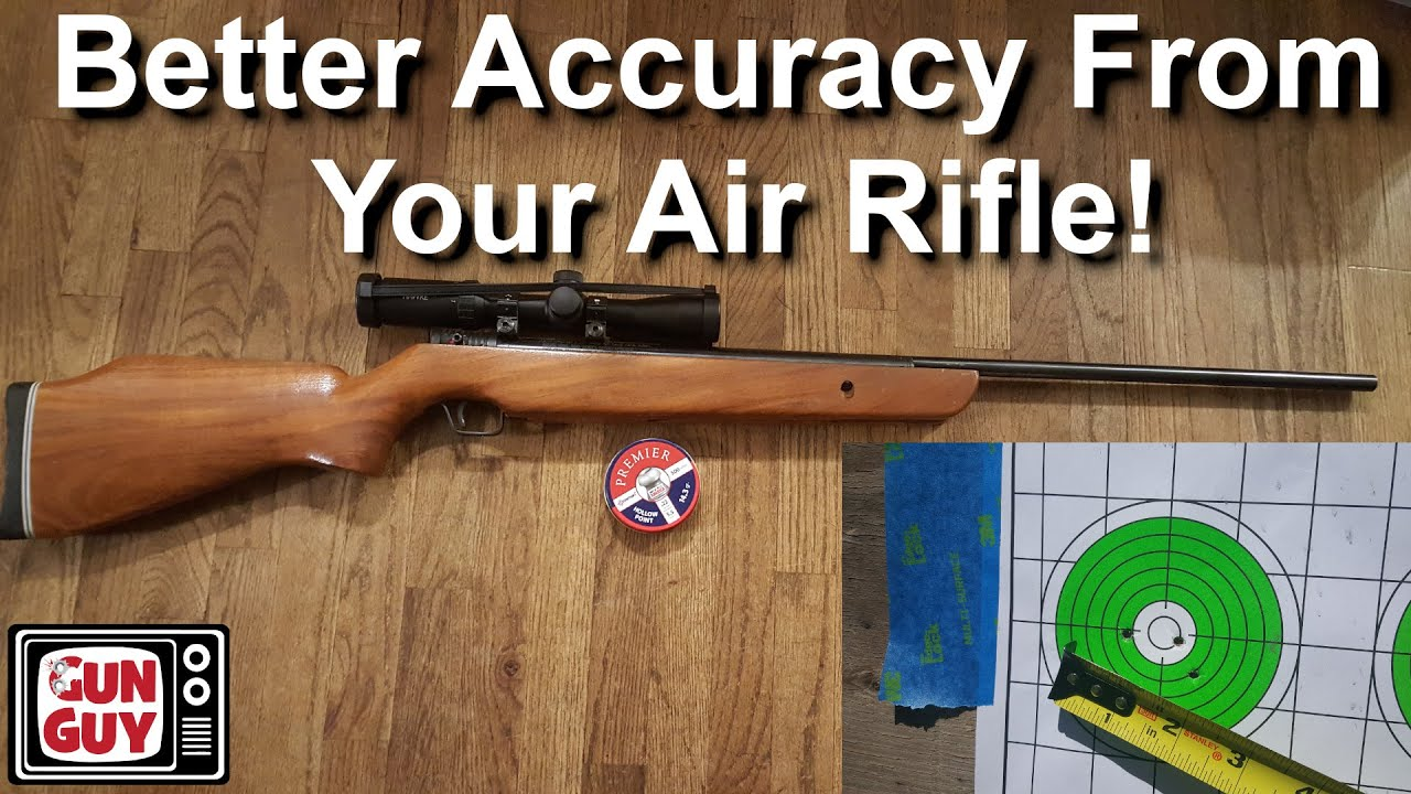 How to make your air rifle more accurate