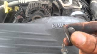 how to change a thermostat on a 1999 dodge ram 5 9