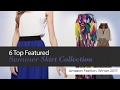 6 Top Featured Summer Skirt Collection Amazon Fashion, Winter 2017