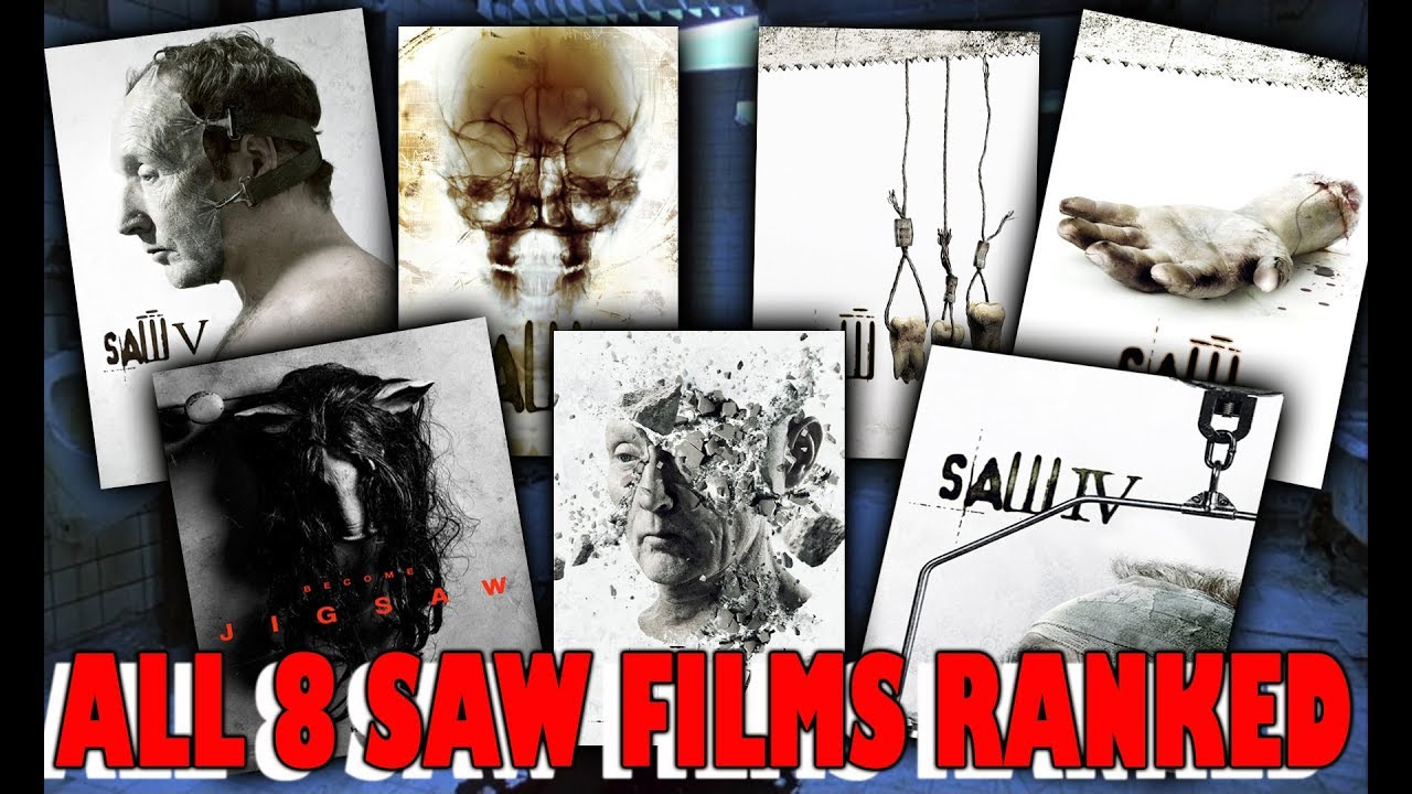 All 8 Saw Movies Ranked Worst to Best (With Jigsaw)