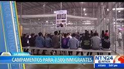 Seis nuevos campamentos para indocumentados sern construidos en la frontera sur de EEUU