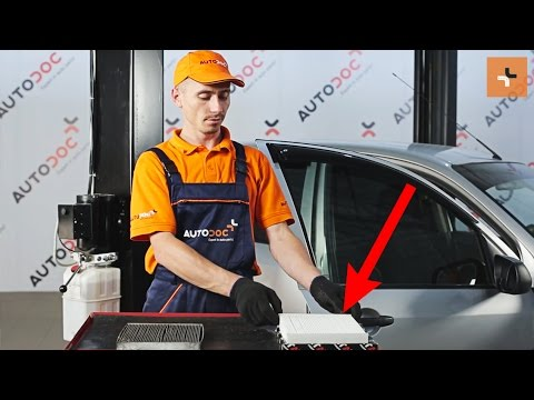 Byta Kup 233 Filter Mazda 2 Dy Guide Autodoc Youtube