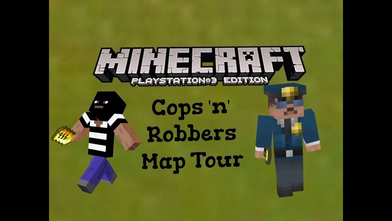 minecraft ps3 cops and robbers map download - Lim's Cave