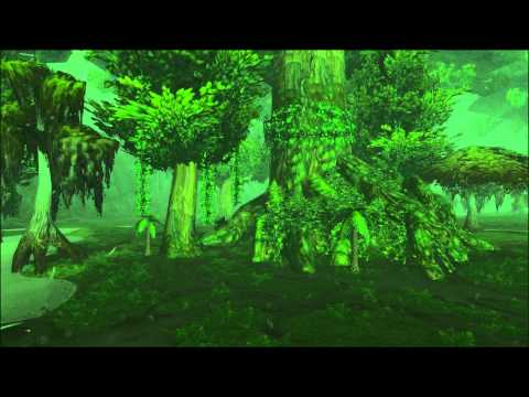 Un'goro Crater - Fly through - Scenery - World of Warcraft