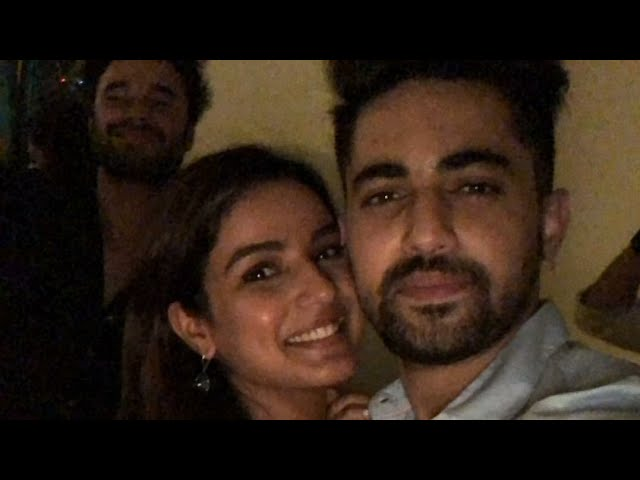 Jasmin bhasin,Teni Birthday Cake cutting with zainimam,28th June