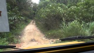 Pinzgauer 716M Test Drive in Kampung Air Panas, Sungai Kerling
