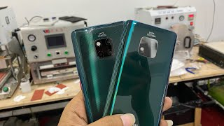 Hauwei Mate20 pro back glass replacement very easy... (4K videos)