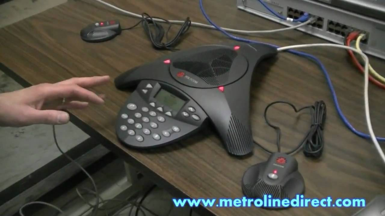 Polycom - How to install Polycom Soundstation IP4000 conference phone