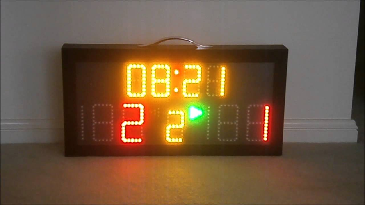 led scoreboard demo youtube video youtube