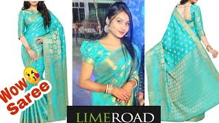 Wedding Occasion Special Kanjivaram Saree Try On, Unboxing and Review | Is it Worth?? That Supergal