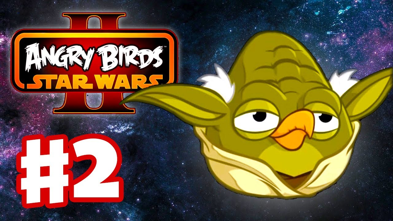 6cfd82e24 Angry Birds Star Wars 2 - Gameplay Walkthrough Part 2 - Yoda Helps Naboo! 3  Stars! (iOS/Android) - YouTube