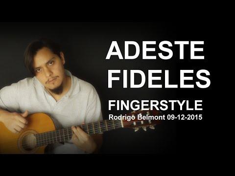 Adeste Fideles Fingerstyle Rodrigo Belmont