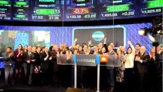 2013 USHAA Bravo Awards NASDAQ Closing Bell January 24 Thumbnail