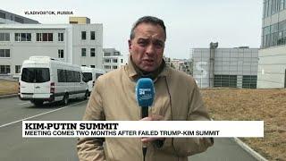 North Korea's Kim hails Russia 'friendship' at start of Putin summit