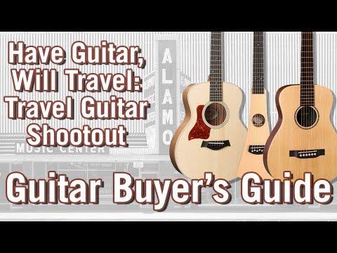 Best Travel Guitars for 2018: An Acoustic Guitar Shootout