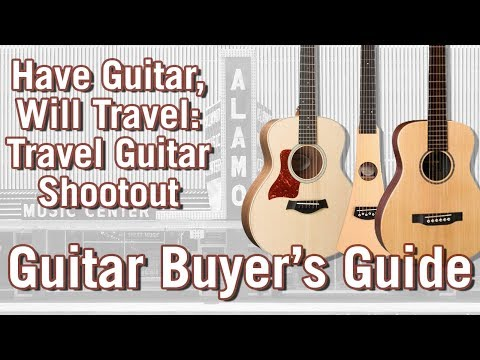 Best Travel Guitars for 2018: An Acoustic Guitar Shootout