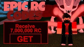 *EPIC* RC CODES | HOW TO GET LOTS OF RC | Roblox Ro-Ghoul