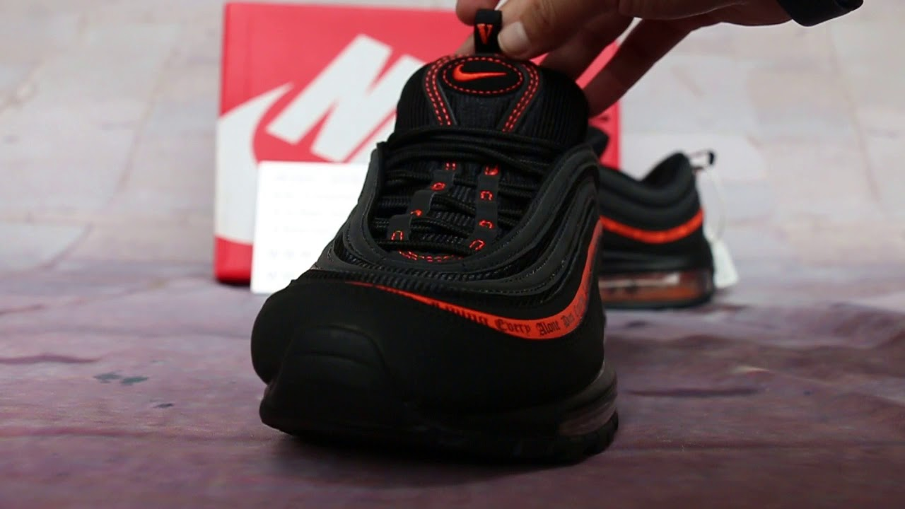 7100f28d30 VLONE x Nike Air Max 97 HD Review - YouTube
