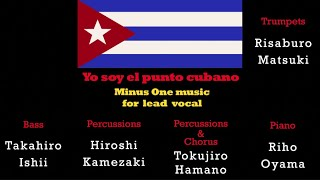 Yo soy el punto cubano - Minus One Music for male vocalist (Key=G)  Presented by Osaka Latin Session