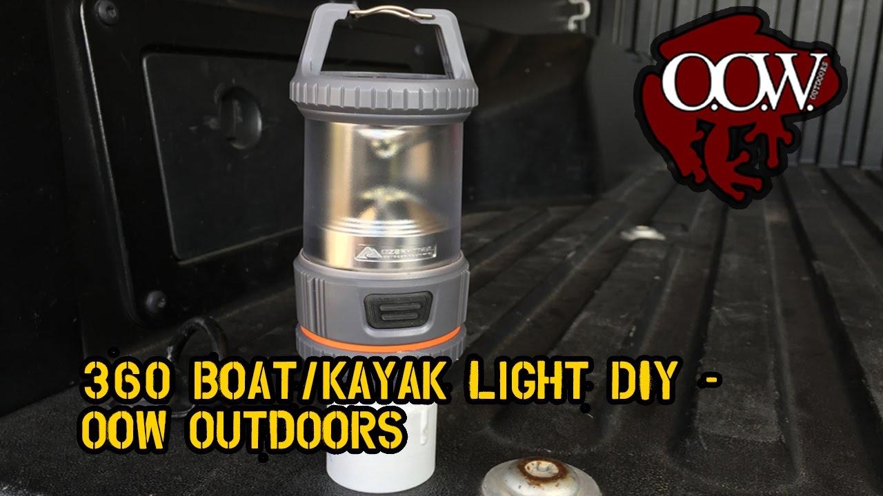 360 Boat/kayak Light, Do It Yourself (DIY)   OOW Outdoors Amazing Design
