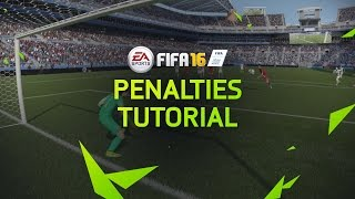 FIFA 16 Tutorial - How To Score Penalties