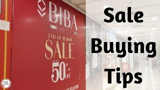 Tips for Buying Clothes in SALE || Smart Shopping TIPS || Tricks to Buy item Quickly during sale