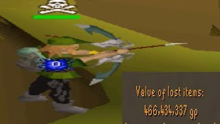 Lvl 55 3rd Age Bow PKing is Overpowered