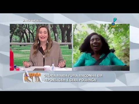 Sonia Abrão Comenta Reportagem Que Glória Maria Aparece Fumando Maconha