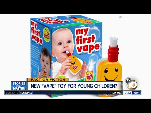 Rach On The Radio - New Vape Toy For Children Is Causing A Social Media Frenzy [VIDEO]