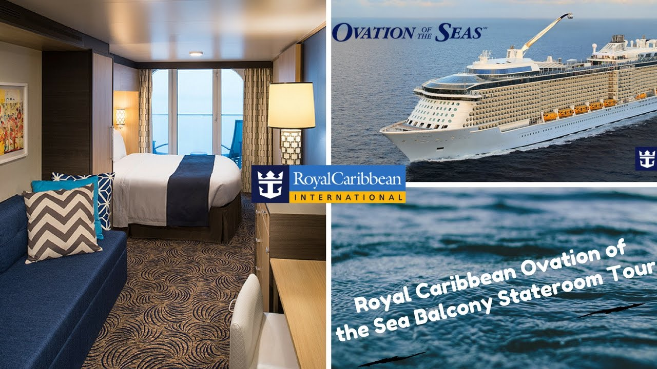 Royal Caribbean Ovation Of The Sea Balcony Stateroom Tour