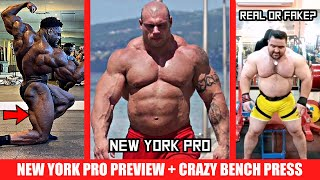 Morgan Aste 5 Weeks Out + New York Pro Preview + CRAZY Bench Press (330kg) Real or Fake?? + MORE