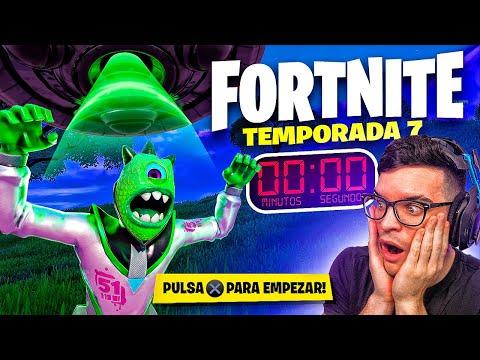 NUEVA TEMPORADA 7 *FORTNITE x SUPERMAN* INVASION   CreativeSergi