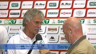 Padova - Pescara 2-2: Giuseppe Pillon