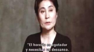 Yoko Ono entrevista sobre el Asesinato de john lennon  (en español)