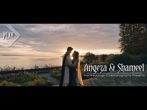Beautiful Vancouver Afghan Fijian Wedding - Angeza & Shameel