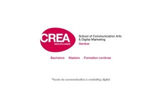 CREA -  L'école de référence - Création, Marketing & Communication, Digital