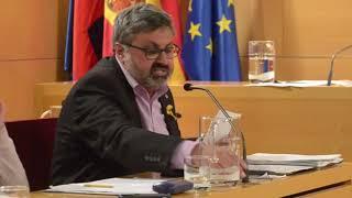 Quim Fernàndez presenta al Ple la proposta sobre el Parc Vell de Mataró
