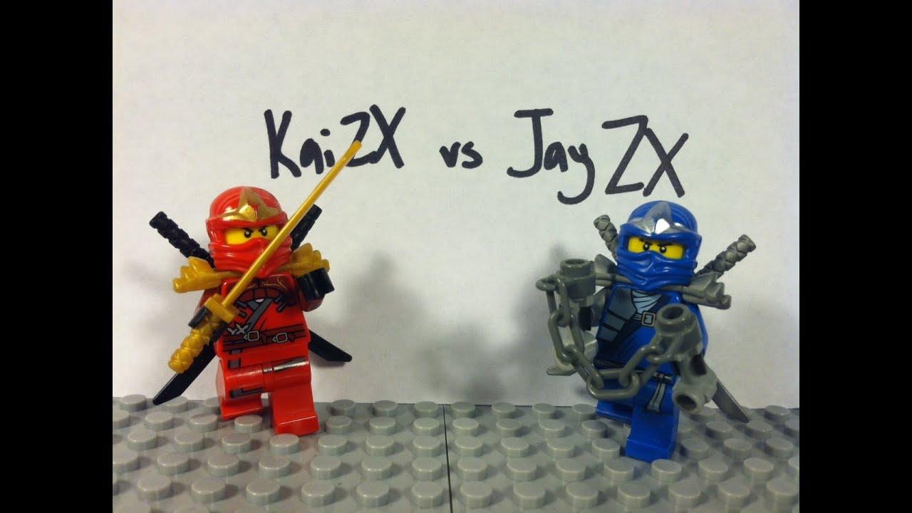 Lego ninjago kai zx vs jay zx youtube - Ninjago vs ninjago ...