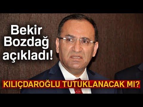 Bekir Bozdağ: ''Kılıçdaroğlu'nun Tutuklanacağı İddiası...''