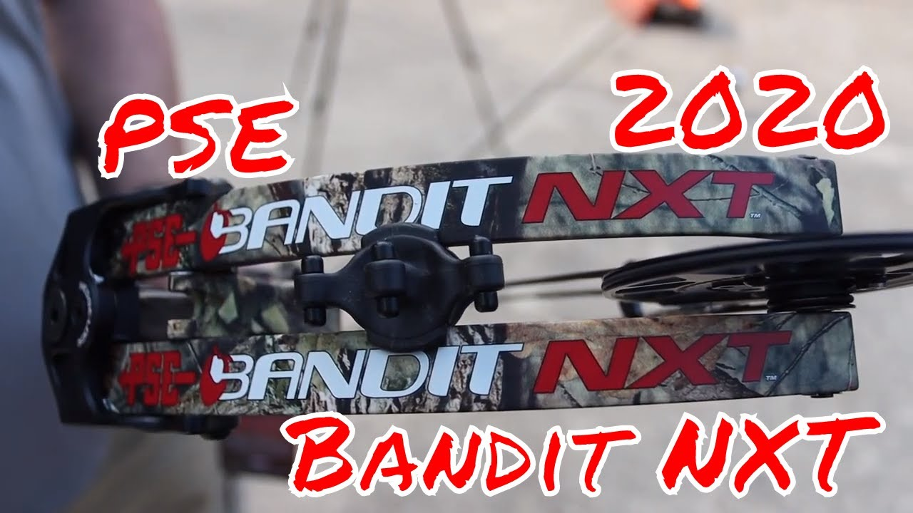PSE 2020 Bandit NXT Evolve Cam First Look Test Review by Mike's Archery