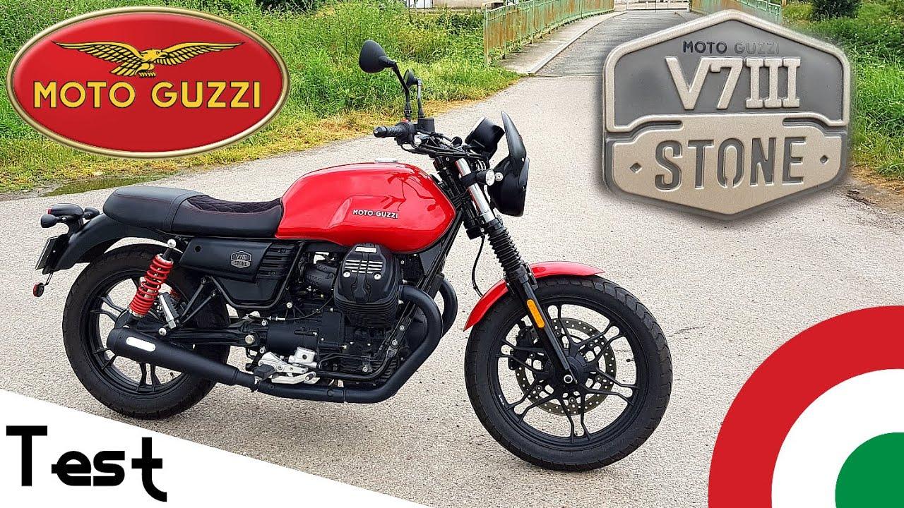 """Test"" Le néo-rétro à l'italienne 🇮🇹 ""Moto Guzzi V7 III stone de 2020"""